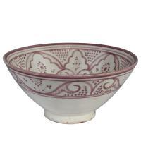 Handbemalte Keramikschüssel KS43