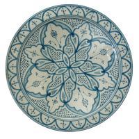 Handbemalter Keramikteller S01