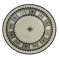 Handbemalter Keramikteller S02