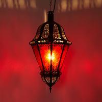 Hängeleuchte Salma Rot