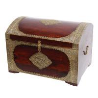 Orientalische Holztruhe Mohini