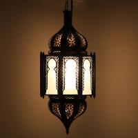 Deckenlampe Haniya Milchweiss