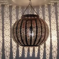 Marokkanische Deckenlampe Rajaa