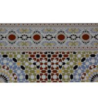 Marokkanische Wandfliese Bordüre Ihab