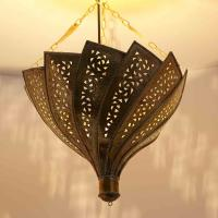 Messinglampe Orientica