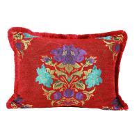 Marokkanisches Kissen Maysa Rot