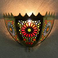 Messing-Wandlampe Gomra