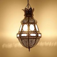 Messinglampe Alima