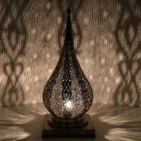 Messinglampe Bashir
