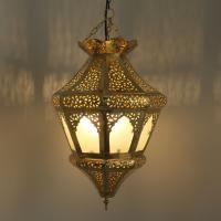Messinglampe Dila