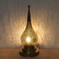 Messinglampe Duru