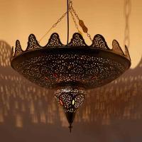 Messinglampe Lubab