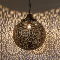 "Messinglampe ""Medina"" L"