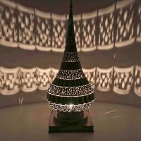 Messinglampe Niran