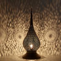 Messinglampe Zakia