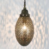 Messinglampe Yilma