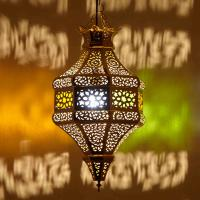"Messinglampe ""Halima"""