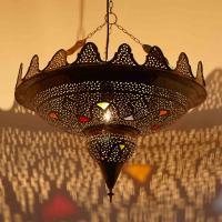 Messinglampe Isa