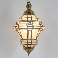 Messinglampe Agdal