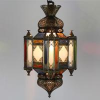 Messinglampe Moula-Messing