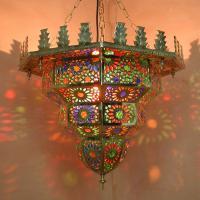 Messinglampe Al Hambra