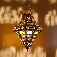Messinglampe Imlil