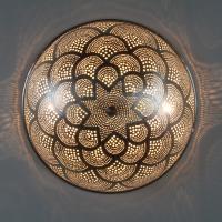 Ägyptische Silber-Wandlampe Rahila D35