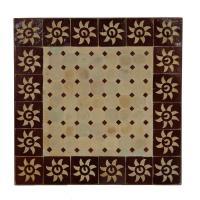 Mosaiktisch 60x60 Bordeaux-Sonne