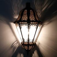 Orient Wandlampe Beluti Transparent