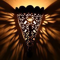 Orientalische Eisen Wandlampe EWL11