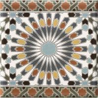 Marokkanische Wandfliesen-Bordüre Kasbah