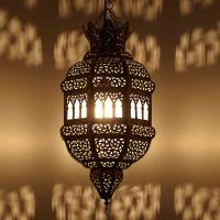Messinglampe Fatima