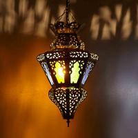 Messinglampe Nacera