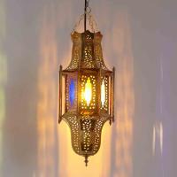 Messinglampe Nisrin