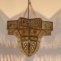 Messinglampe Rami