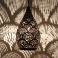 Orientalische Messinglampe Safa