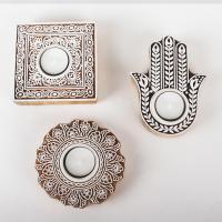 Orientalische Teelichthalter Sahra im 3er Set