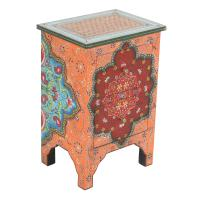 Orientalische handbemalte Kommode Sheela