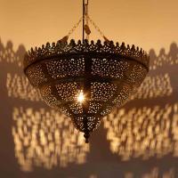 Messinglampe Ayana