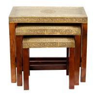 Orientalische Beistelltische Lami 3er-Set