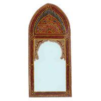 Orientalischer Spiegel Sharif Bordeaux