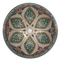 Orientalisches-Keramik-Waschbecken Fes18