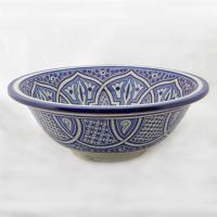 Orientalisches-Handbemaltes-Keramik-Waschbecken Fes49