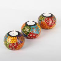 Orientalische Teelichthalter Anila im 3er Set