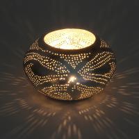 Orientalisches Windlicht Silberlaterne Nureddin