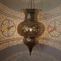 Silberlampe Amir