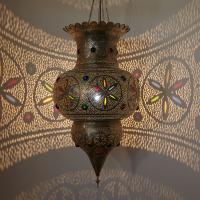 Silberlampe Ashwaq