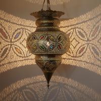 Silberlampe Bascha