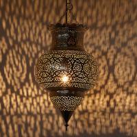 Silberlampe Habiba