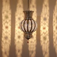 Silberlampe Liya
